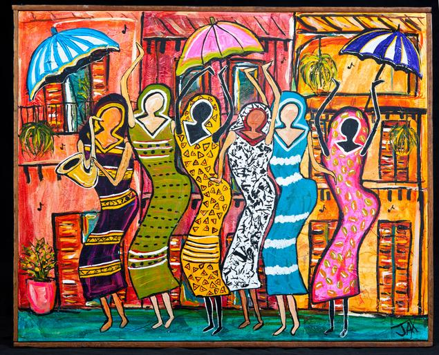 New Orleans Paintings For Jazz