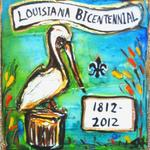 Bicentennial Pelican - chosen by the Louisiana Bicentennial as one of the Official Bicentennial Products in 2012